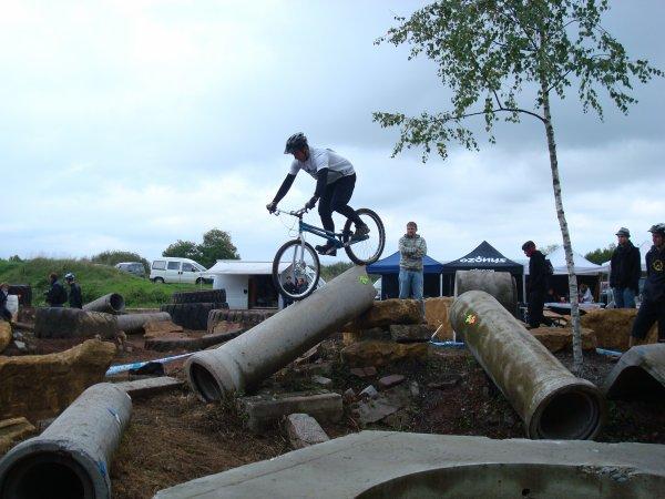 Championnat de Lorraine VTT Trial à Woippy, Cédric Arnold