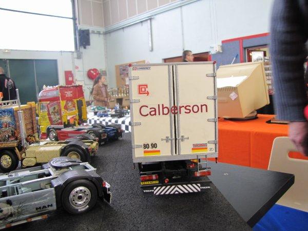 maquette camion calberson. Black Bedroom Furniture Sets. Home Design Ideas