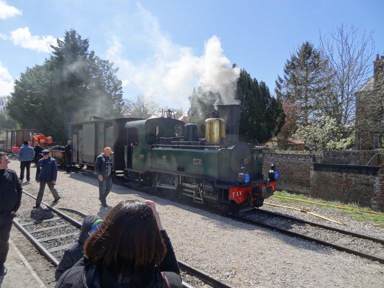 La F�te de la Vapeur en Baie de Somme, 17 avril 2016 (1)