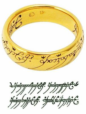 L 39 anneau unique ma passion pour le seigneur des anneaux - Tatouage seigneur des anneaux ...