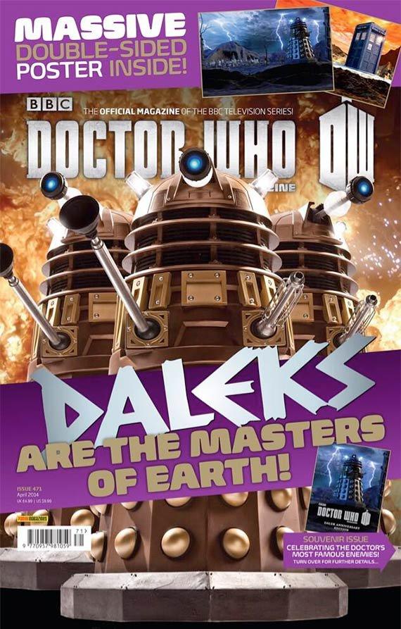 DWM #471 : 50 ans de Daleks