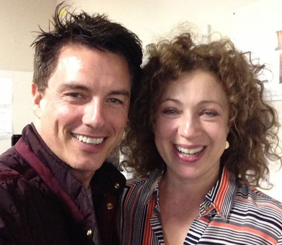 Bon Anniversaire Alex Kingston & John Barrowman !
