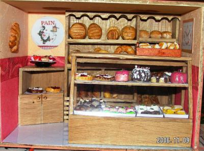 la boulangerie patisserie mini vitrine nadine. Black Bedroom Furniture Sets. Home Design Ideas