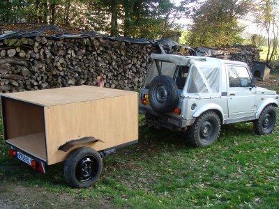 4x4 fabrication de la remorque un passion de chasse. Black Bedroom Furniture Sets. Home Design Ideas