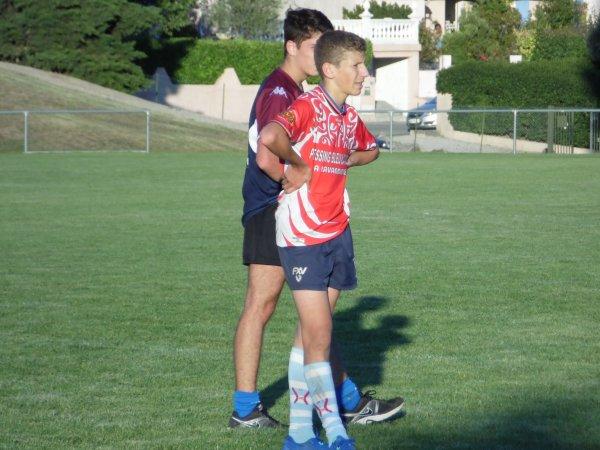 Photos du premier entrainement avec les juniors du R.O.Castelnaudary XV