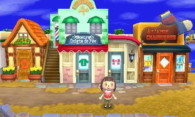 Animal crossing new leaf comment avoir le salon de coiffure - Animal crossing new leaf salon de detente ...