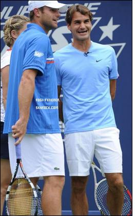 Hommage � Andy Roddick et Kim Clijsters: