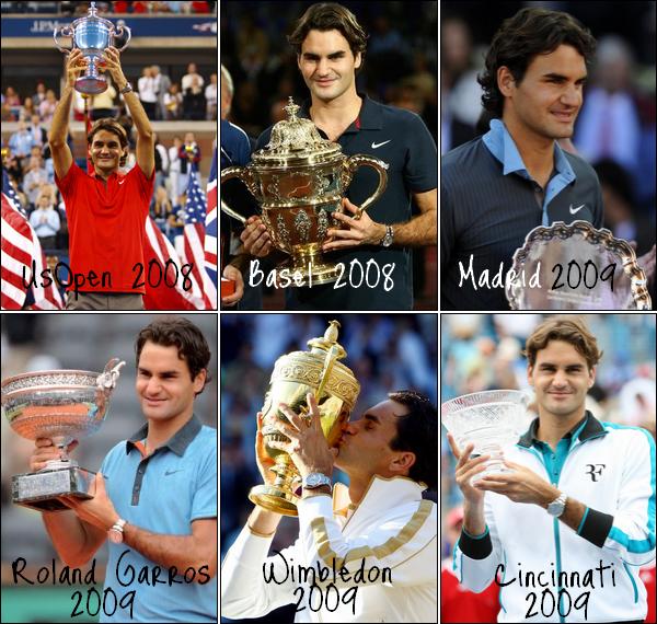 En ce 09 Septembre 2012 Rogi-Federer f�te ses 4 ans