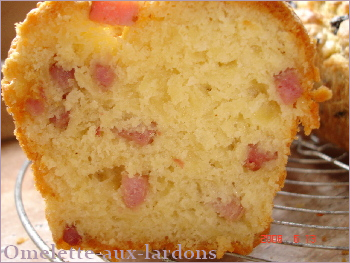 Ingredient Cake Aux Lardons