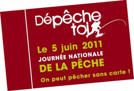 Journ�e Nationale de la P�che : Dimanche 5 juin 2011