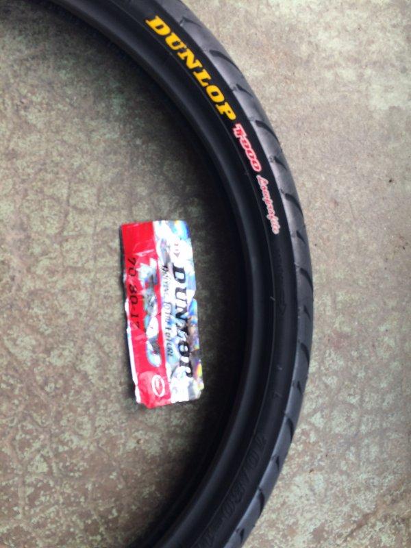 nouveau pneu pour mes cyclos