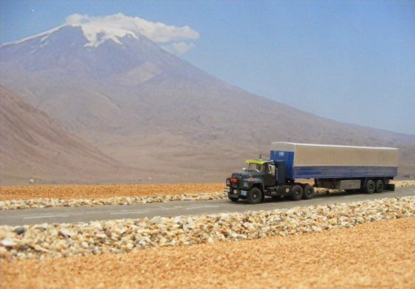 Iranian Mack R (IRAN-KAVEH), near Mount Ararat!..