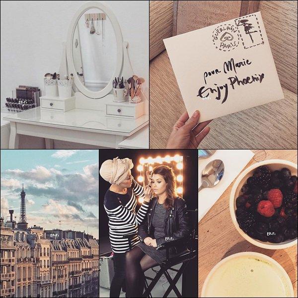 D�couvrez de nouvelles photos Instagram de Marie.