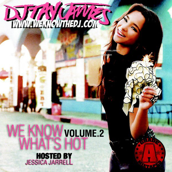 Cover Officiel 'We know whats hot (volume 2) _ MIXTAPE