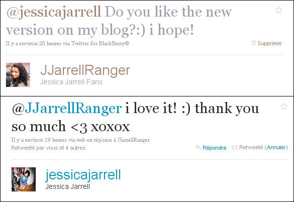 Jessica adore la nouvelle version! :D et toi ? Jessica love the new version! :D what about you?