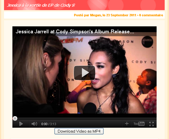 News on Jessica-Jarrell.com