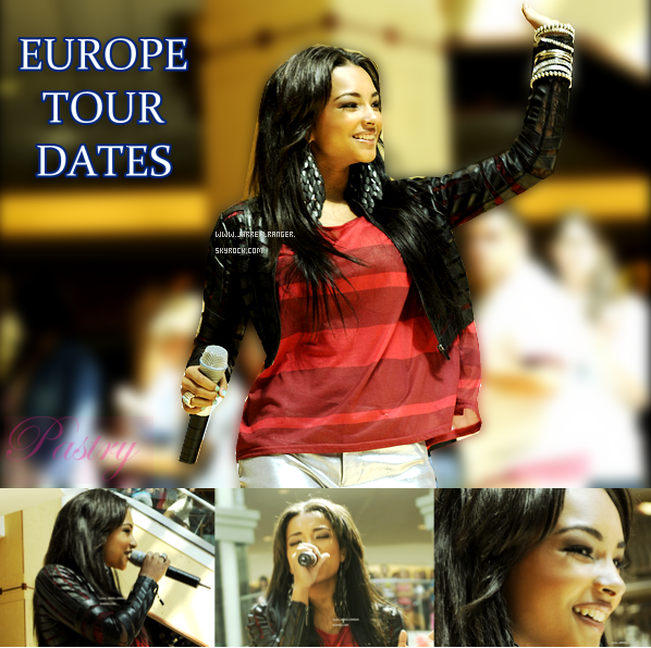 PASTRY EUROPE MUSIC TOUR