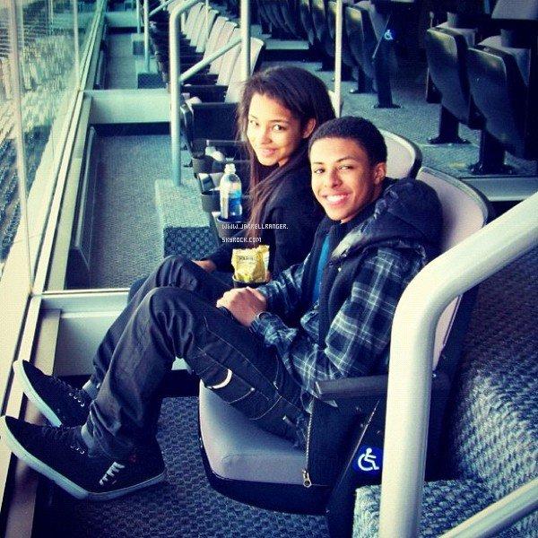 Jessica and Diggy! :) aww (Instagram)