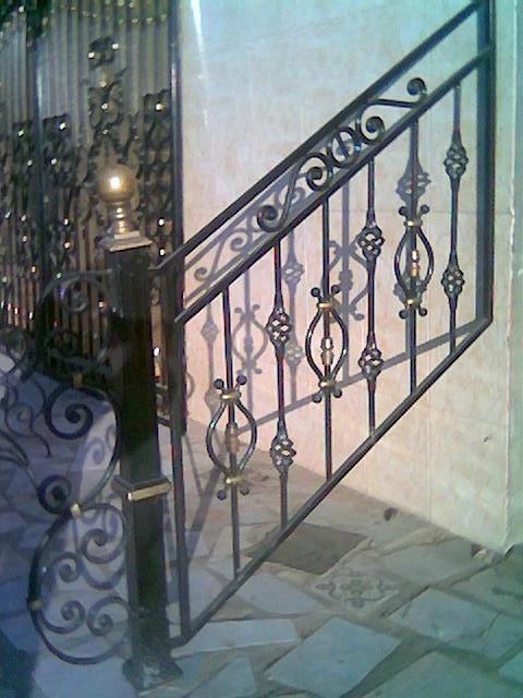Rampe D 39 Escalier Fer Forg 22 Blog De Barrieres Rampes Fer