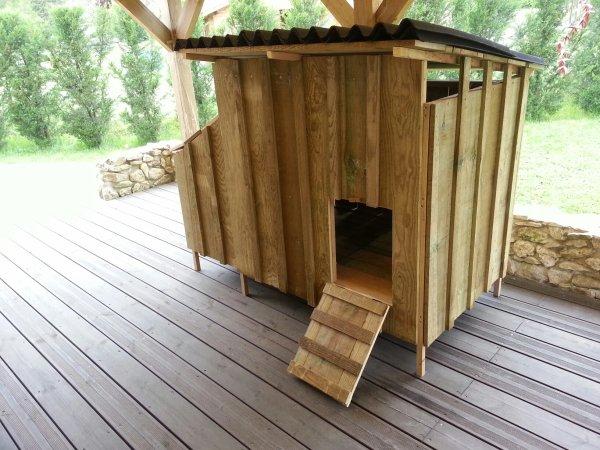 Cabane a poules notre maison nos travaux - Maison pour les poules ...