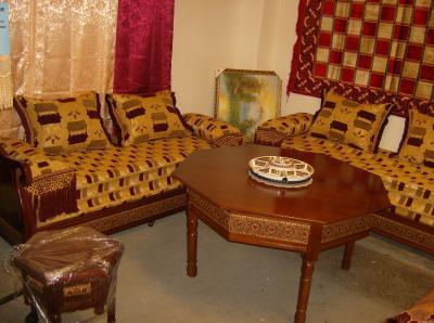 Egyptien marron 1150 salon marocain for Salon egyptien