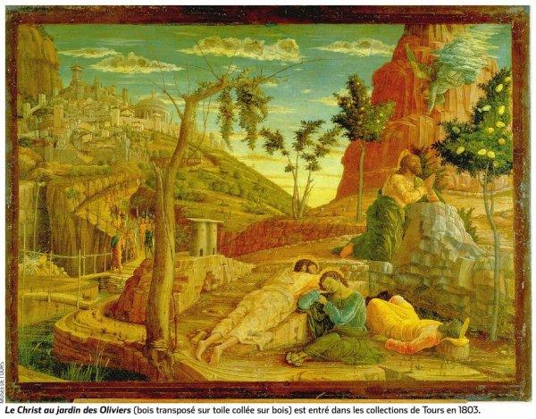 Tr sor des mus es le christ au jardin des oliviers par for Au jardin des oliviers