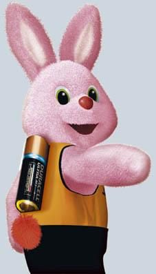 Duracell est la meilleure marque de pile et le lapin rose - Meilleure marque de four ...