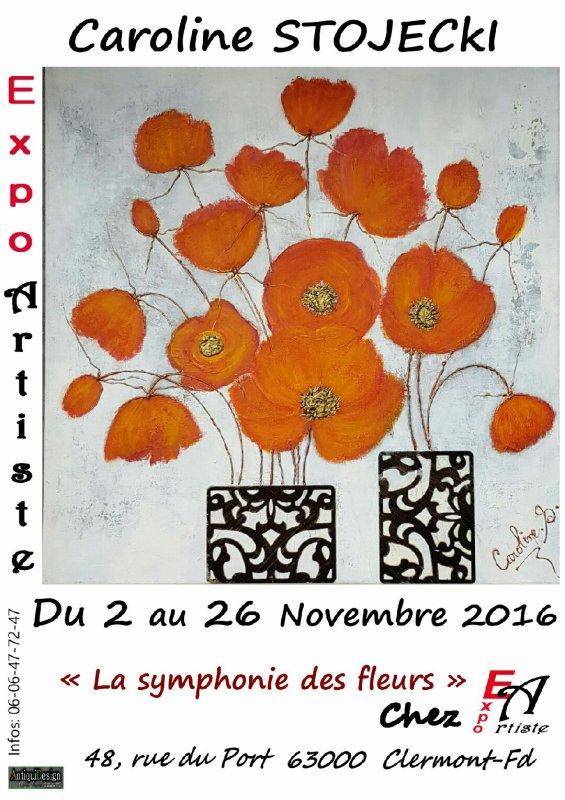 Caroline Stojecki Galerie Expo-Artiste Clermont-Ferrand