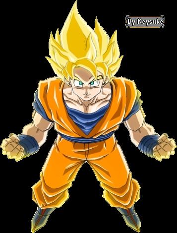 sangoku super sayen - dragon ball z