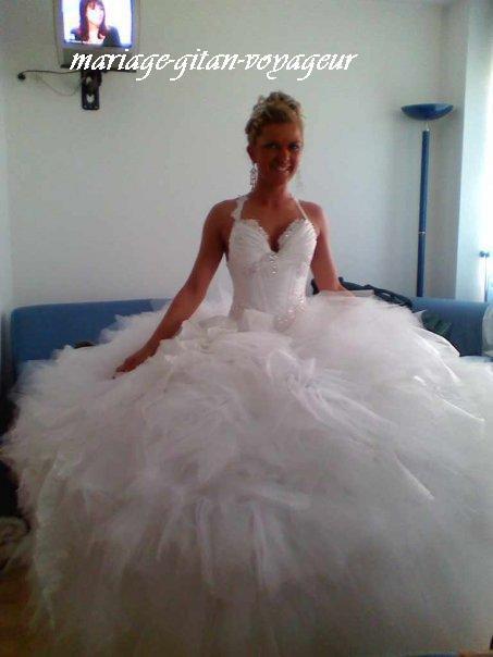 Robe de mariee pour gitane