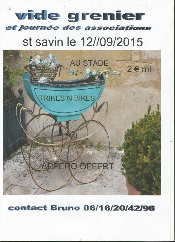 Vide grenier le 12 9 2015