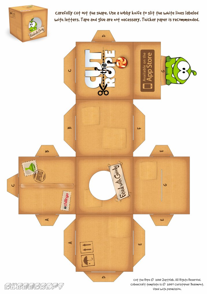 la bo te cut the rope. Black Bedroom Furniture Sets. Home Design Ideas