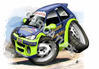 Caricature voiture rally tuning - Caricature voiture ...