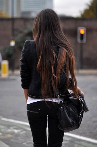 Фото красивые с длинными волосами со спины на аву в контакт
