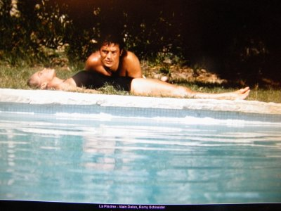La piscine superbe film tourn saint tropez avec romy for La piscine movie
