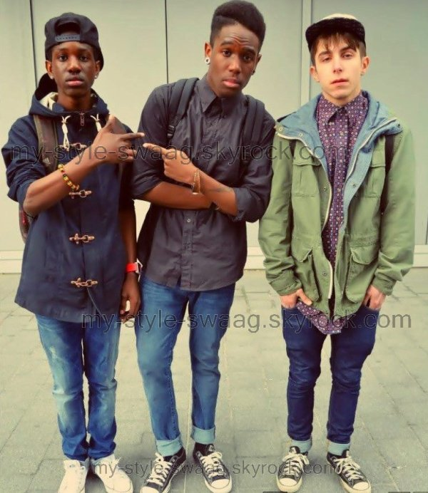 Etre stylé cest pas seulement au STATES, sur Paris on peut aussi des boys stylé, style vintage,old school.. , MODE, FASHION, TENDANCE