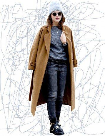 Comment porter le manteau oversize mode fashion tendance - Comment porter un pull oversize ...