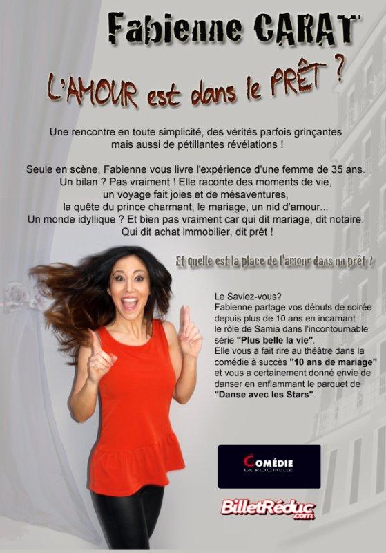 """""""L'amour est dans le Pr�t ?"""" les 7, 8 et 9 Octobre � la Com�die La Rochelle"""