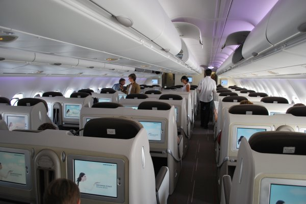 A380 800 air france classe affaire the best way to touch for Interieur 777 air france