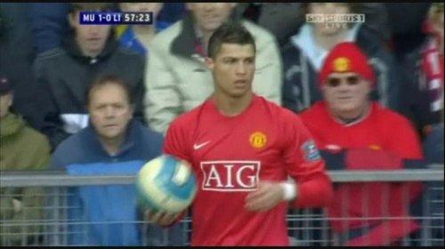 Cristiano Ronaldo vs Liverpool (H) 07-08 (Xris7)