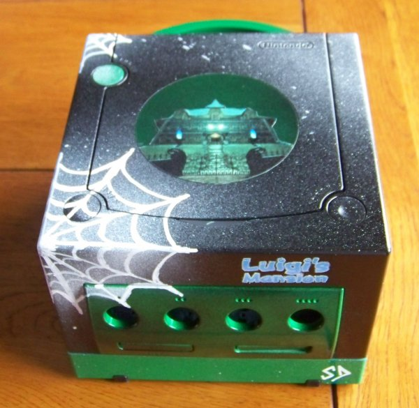 CUSTOM GAME CUBE LUIGI MANSION