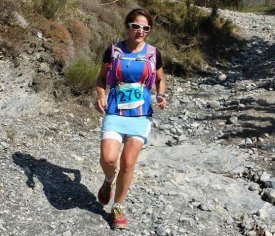 Trail de Tende 2016 - Victoire de Daphn� Ulmann sur 47 km, Amandine Ginouves 2�me