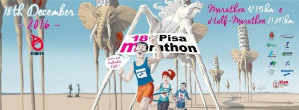 Marathon de Pise 2016 – Nathalie Quesnot de retour sur 42,195 km