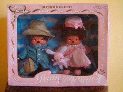Coffret Monchhichi voyage de noces Japon 20CM