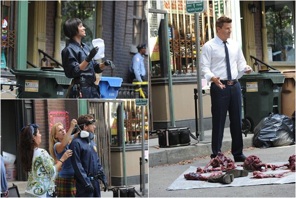 • •  Bones BTS - The Method in the Madness  • •