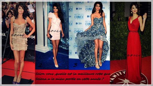 La meilleure tenue de Selena Gomez de cette année.