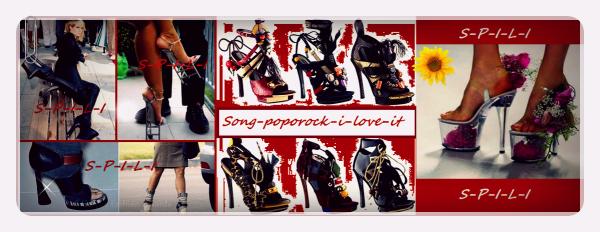 Quelles drôles de chaussures! :o
