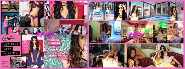 Vanessa Hudgens Photoshoot pour Candie's