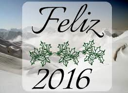 Feliz Año 2.016 para todos.
