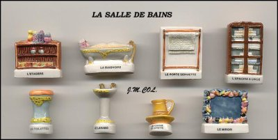S rie 163 la salle de bain 2001 ma petite collection de f ves - Fin de serie salle de bain ...